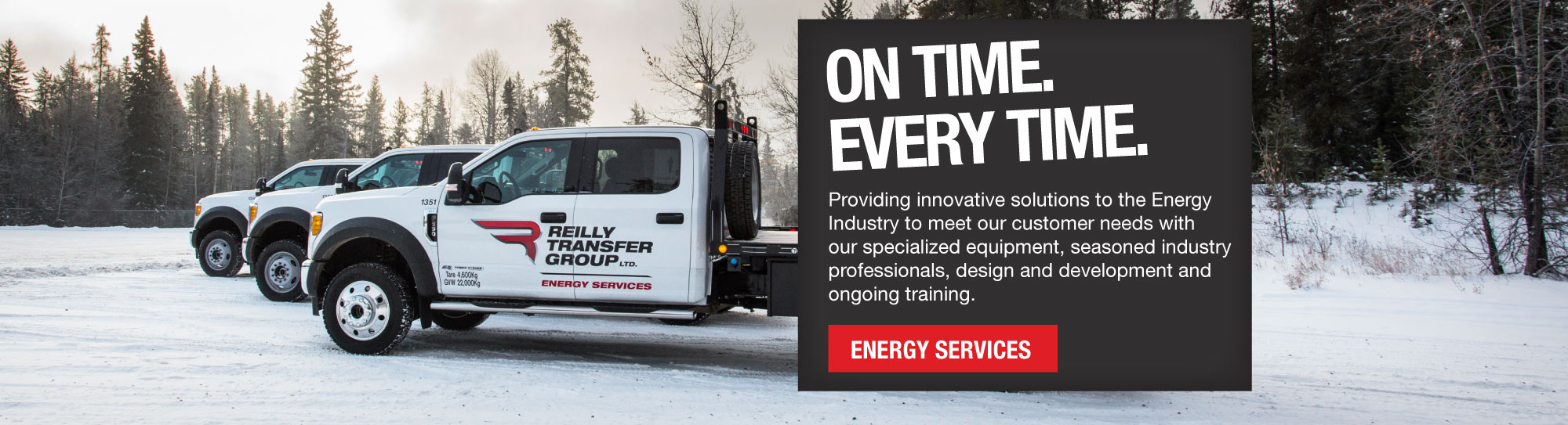 Energy Services - Oilfield Hauling, Camp and Crew Transportation Services Grande Prairie