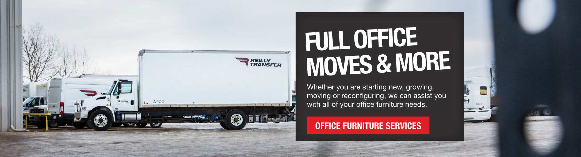 Office Furniture Services - Oilfield Hauling, Camp and Crew Transportation Services Grande Prairie